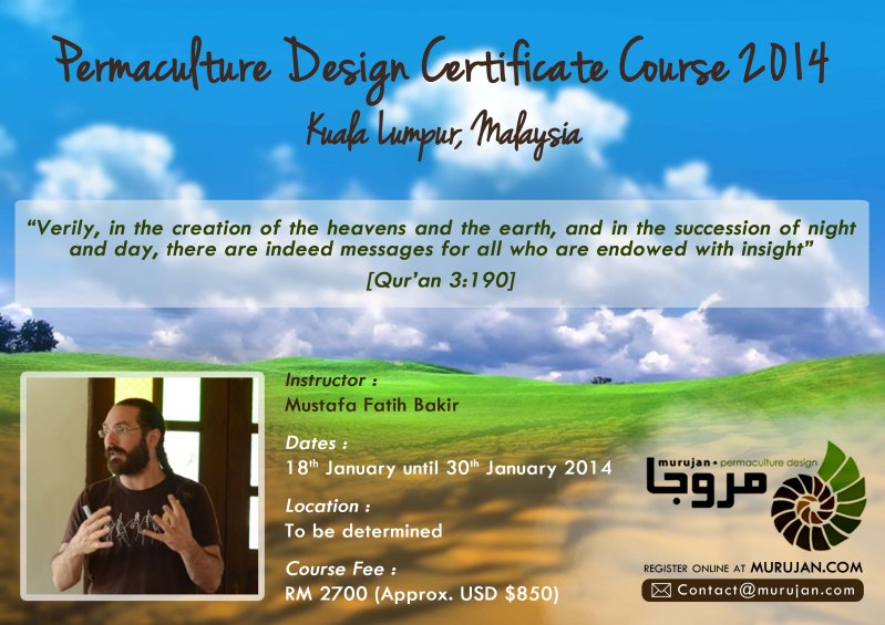 Permaculture Design Course Malaysia