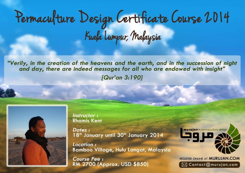 Permaculture Design Certificate course