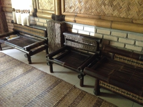 bamboo benches furniture