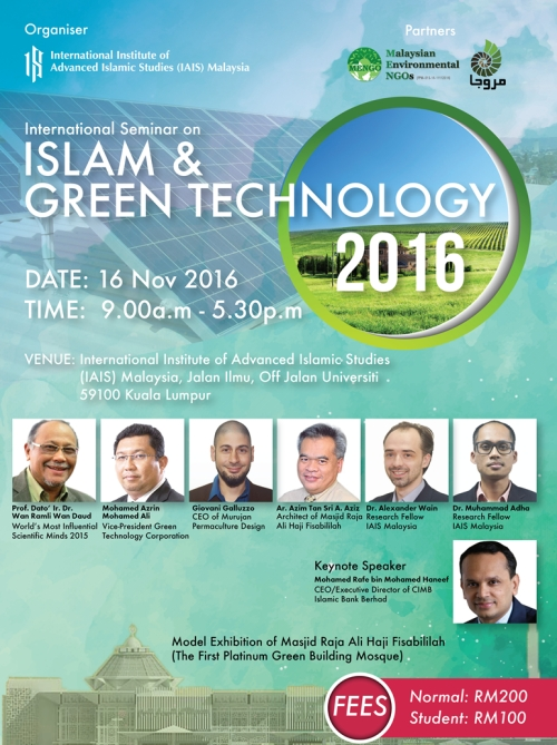 green technology islam malaysia permaculture